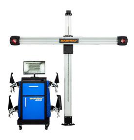 Стенд для проверки и регулировки углов колес EASYRAY 200  Комплектация LS — Лифт Стандарт (подходит для работы на подъемнике и яме)