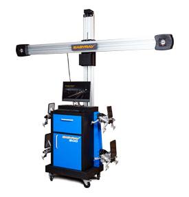 Стенд для проверки и регулировки углов колес EASYRAY 500  Комплектация LS — Лифт Стандарт (подходит для работы на подъемнике и яме)